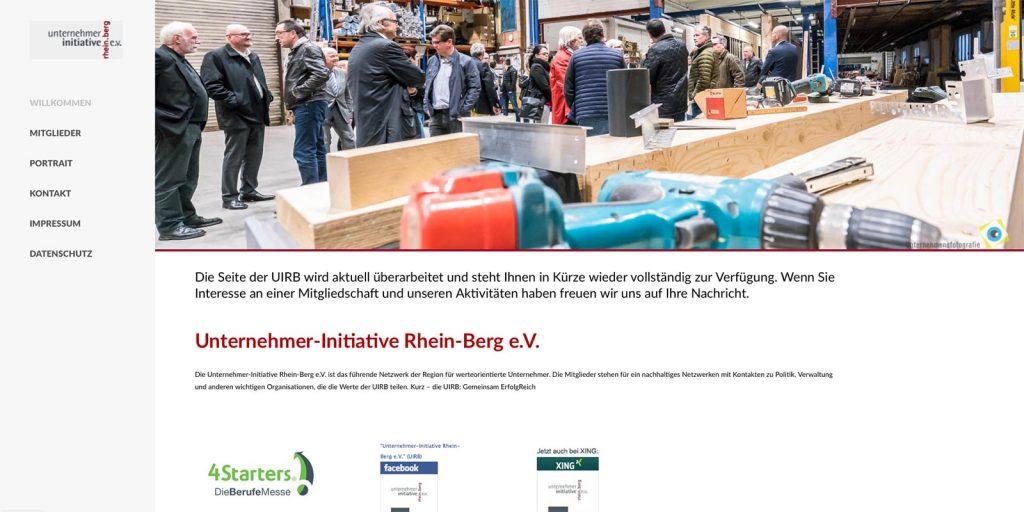 Unternehmerinititive Rhein Berg ev Webdesign Siegburg Pudel und ARTig